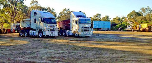 Secure Truck parking, Machinery storage, Perth WA, Roadtrain Parking
